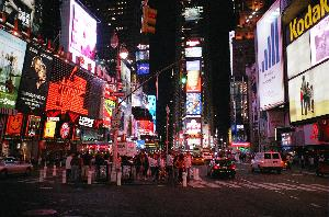 _At Night_:*Times Square*